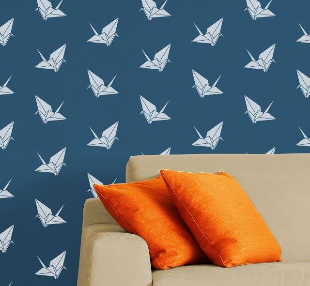 """Origami Crane"" by DIYstencils"