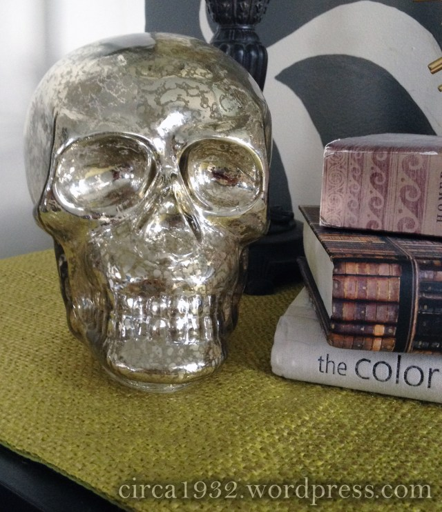 halloween entry skull