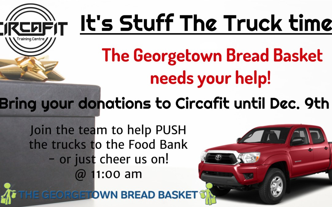 Help us push a truck on Dec 9th at 11am!