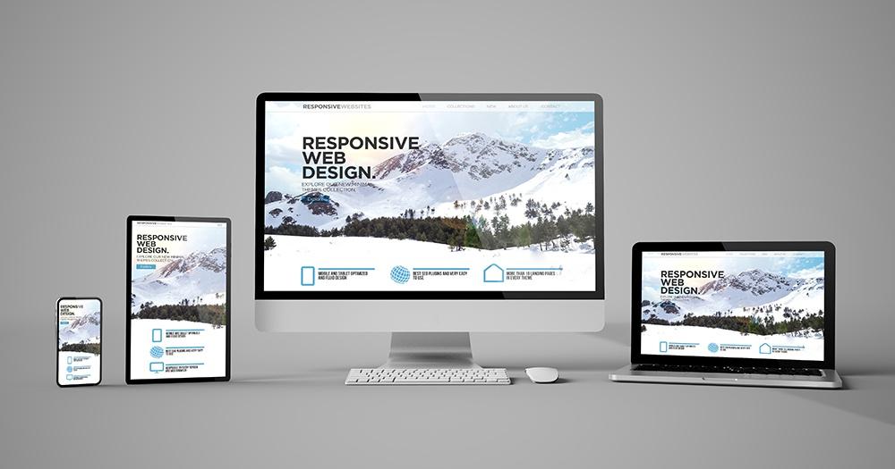 Hjemmesider til alle skaermstoerrelser