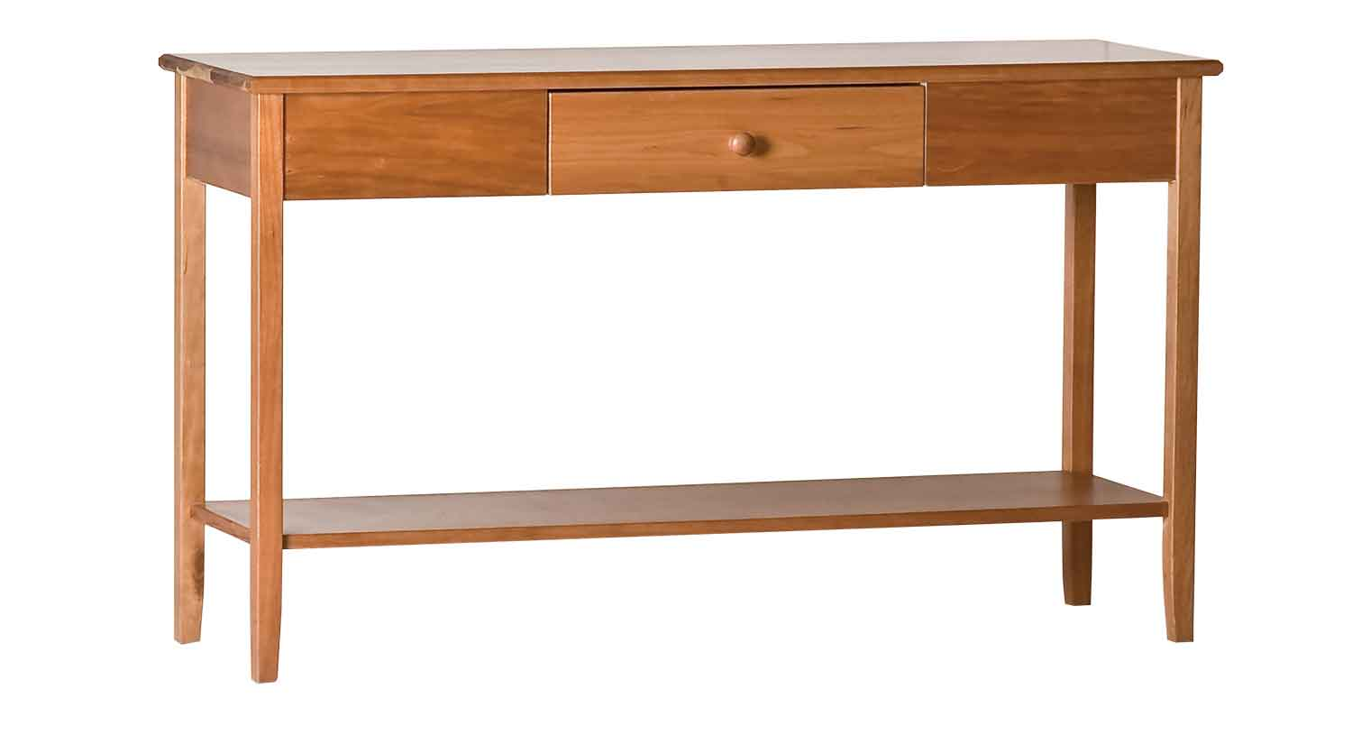 Circle Furniture Shaker Console Table Living Room