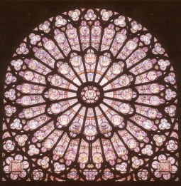 Rose Window, Chartre, France