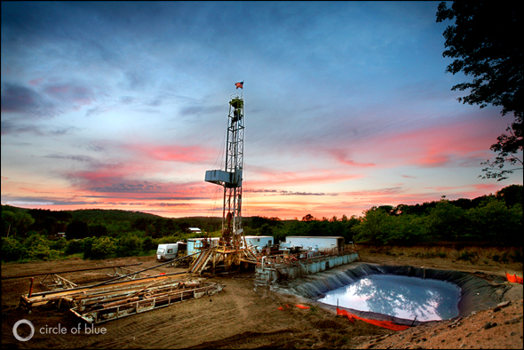 Natural Gas Frack Hydrofracturing Water Energy Michigan Antrim Shale Benzie County