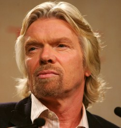 Richard Branson Time Global Health Summit vaccine flu outbreak airline stockpiling global health issues