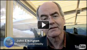 John Elkington: Talking Water and SustainAbility at the World Economic Forum