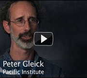Video: A conversation with Circle of Blue science advisor and president of the Pacific Institute, Peter Gleick