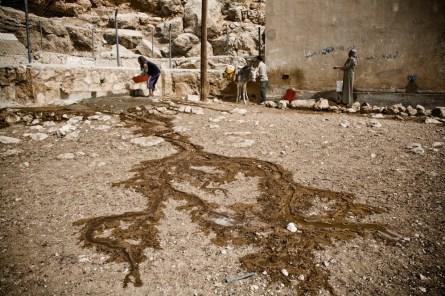 A well near Hebron, in Umm Lasafa village near Yatta.