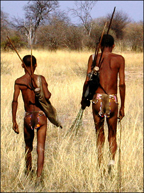 Since the mid-1990s the Botswanan government tried relocating the Bushmen off the Central Kalahari Game Reserve.