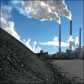 Dirt Coal Pollution