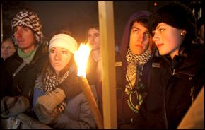 Candlelight Vigil in Copenhagen