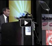 Bill McKibben & President Mohamed Nasheed
