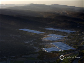 Industrial chicken farms dot the landscape of the Tehuacan Valley.