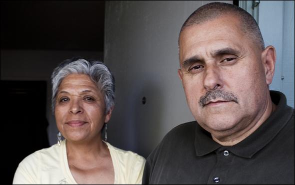 John Mataka and his wife Rosenda