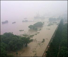 China Flooding - Yangtze River