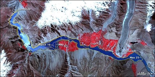 Tidal Wave in Pakistan
