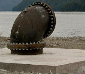 Pipeline in Sitka, Alaska