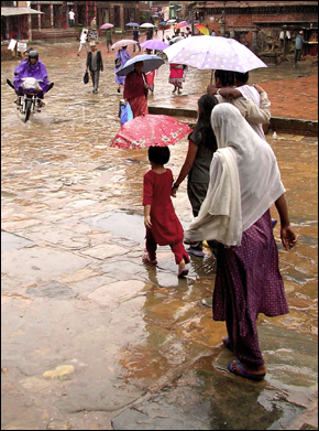 Monsoon in Nepal