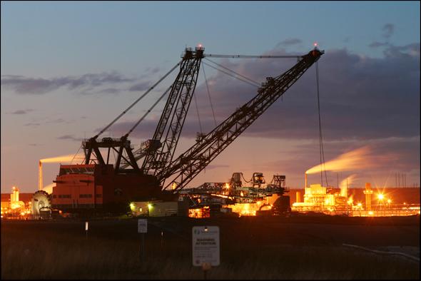 Tar Sands Oil Canada Mining