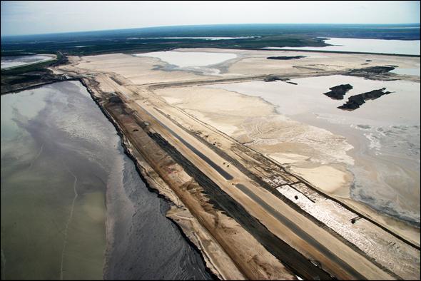 Tar Sands Oil Water Energy Pipeline Alberta Canada