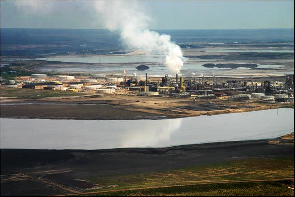 Tar Sands Oil Water Energy Alberta Canada