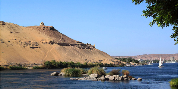 Nile River in Aswan