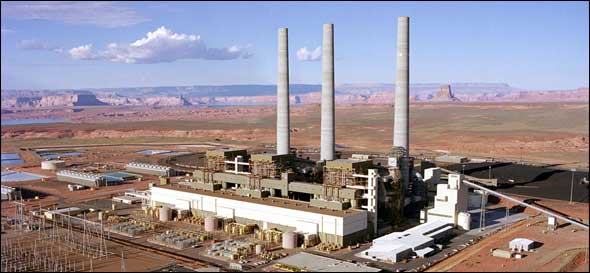 Coal Fired Navajo Generating Station