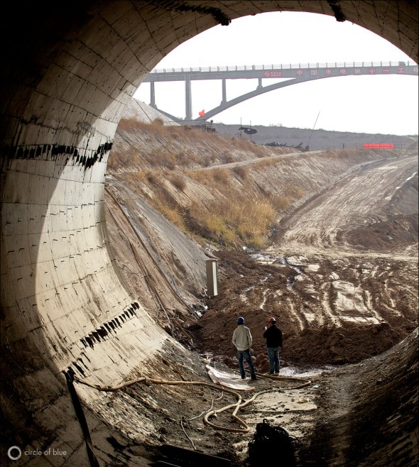 China Yangtze River Basin South North Water Transfer Project Tunnel Construction Aaron Jaffe Circle of Blue