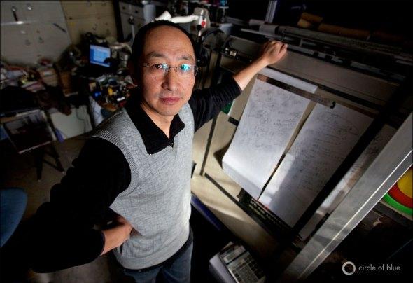 Zhang Junfeng China Water Energy Beijing Engineer Environment Activist