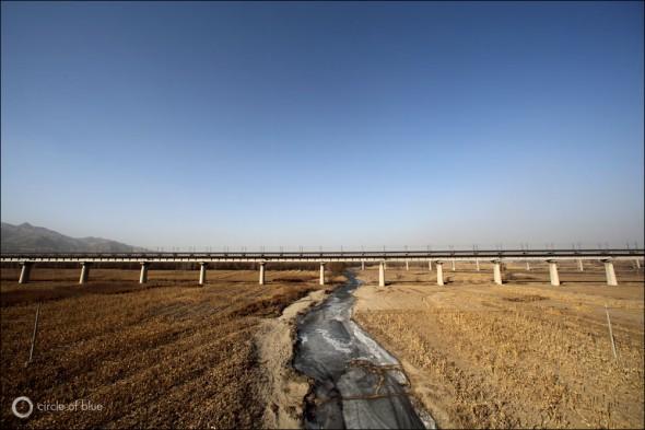 China Water Energy Hebei Yongding River flood plain Beijing Diversion Bulk Water Import