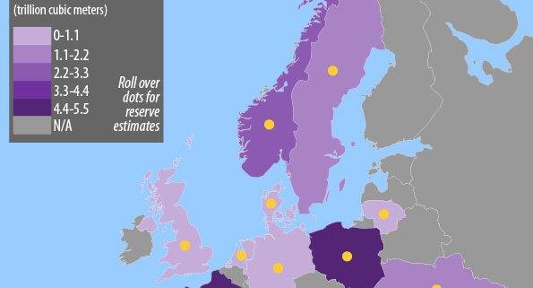 European Fracking Infographic