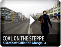 Coal on the Mongolian Steppe