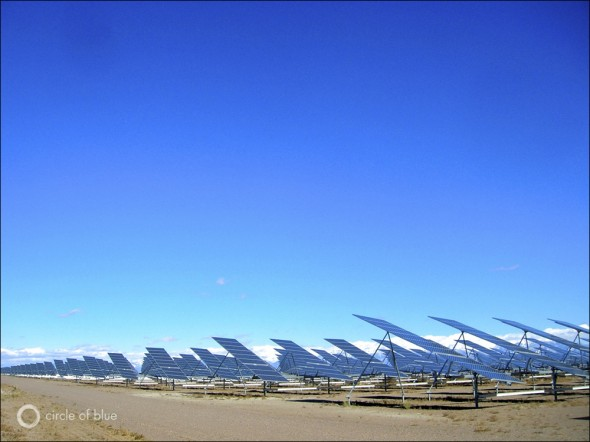 water energy food solar power san luis valley colorado sunpower alamosa county