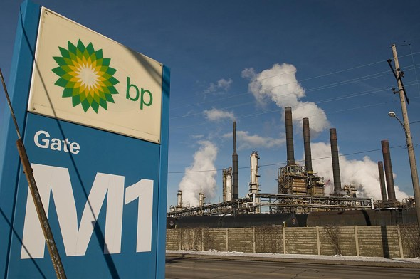 BP's switch to refining tar sands is expected to increase greenhouse gas emissions by 40 percent — equivalent to adding 320,000 cars to area roads.