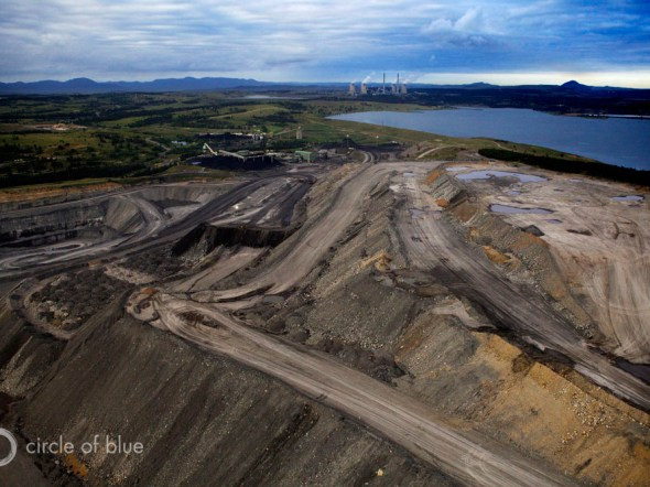Australia Hunter Valley New South Wales coal mining open cut mine