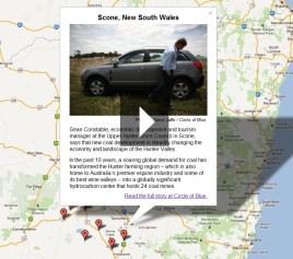 Interactive Australia Map Coal Gas