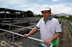 Manila Water Company loan World Bank finance wastewater treatment facilities Robert Baffrey department manager of wastewater.
