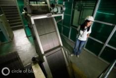 Manila Water Company representative tour wastewater treatment plants Pasig River Manila Bay philippines water privatization