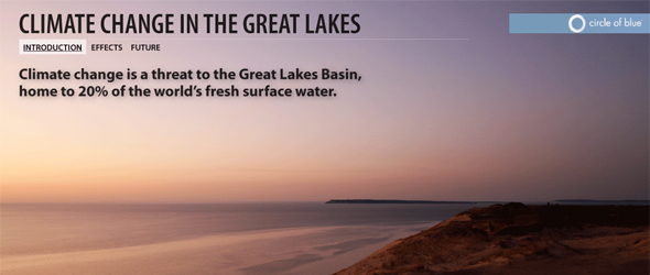 Great Lakes Climate Change Infographic