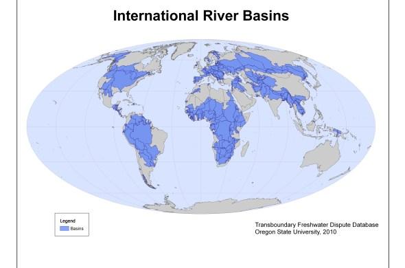international river basins