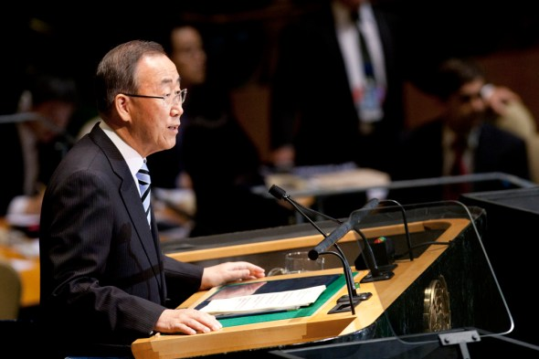 united nations general assembly debate water