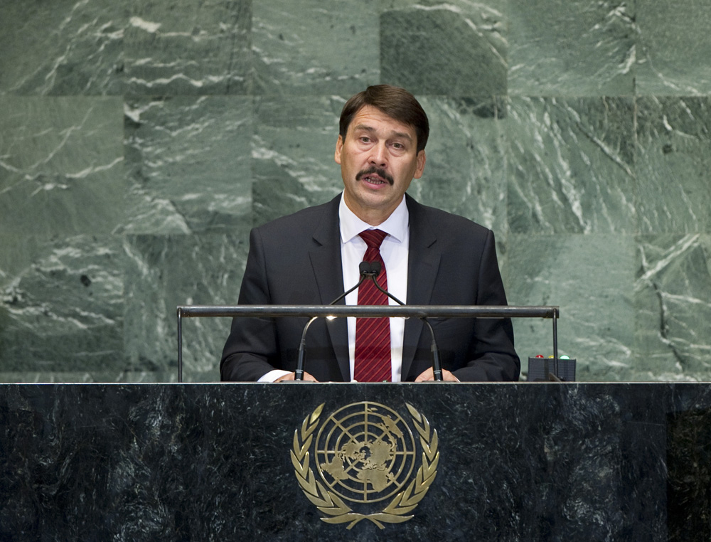 united nations general assembly debate water hungary
