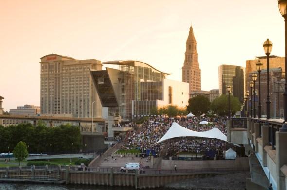 Clean Water Act, restoration, Hartford Connecticut River riverfront million annual patrons riverside plaza concerts festivals downtown promenade Interstate 91