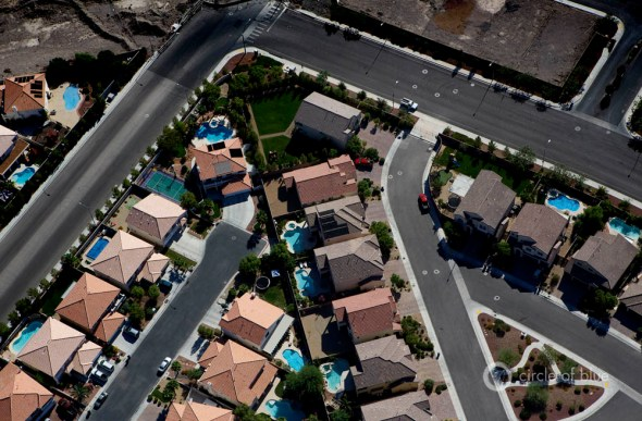 Las Vegas water use swimming pool Colorado River drought conservation