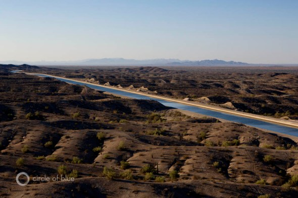 Colorado River Basin Central Arizona Project energy to move water