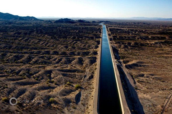 Colorado River Basin Central Arizona Project Canal underground pipe tuscon phoenix arizona