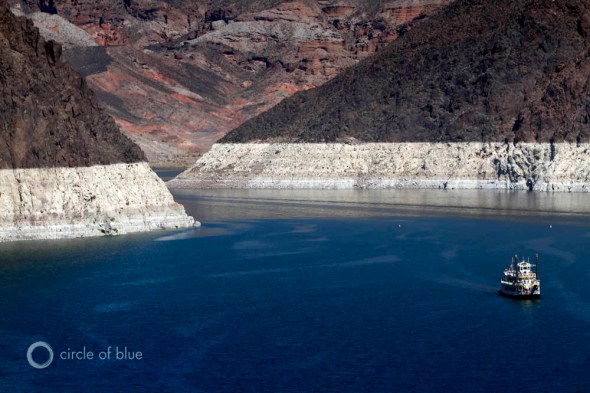 Colorado River Lake Mead California Texas drought reservoirs water supply Las Vegas J. Carl Ganter Circle of Blue