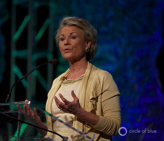 Pat Mulroy general manager of Las Vegas valley water district 5th annual watersmart innovations conference 2012
