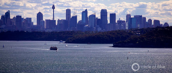city of sydney harbor water master plan decentralized distribution