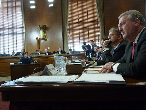Natural Gas Fracking Senate Energy and Natural resources Committee Hearing Wyden Murkowski Committee drinking water jack gerard american petroleum institute Colorado Governor John Hickenlooper