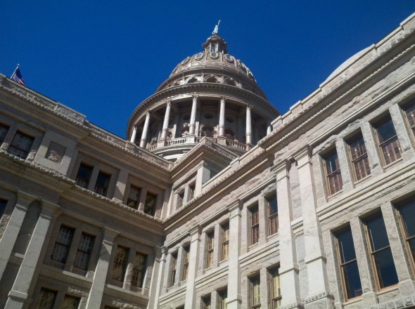 Texas state capitol legislature water law